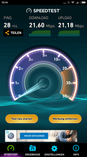 b2ap3_small_Screenshot_2016-10-26-15-14-06-018_org.zwanoo.android.speedtest Xiaomi Redmi Note 4 Review: Preiswertes Budget Phablet
