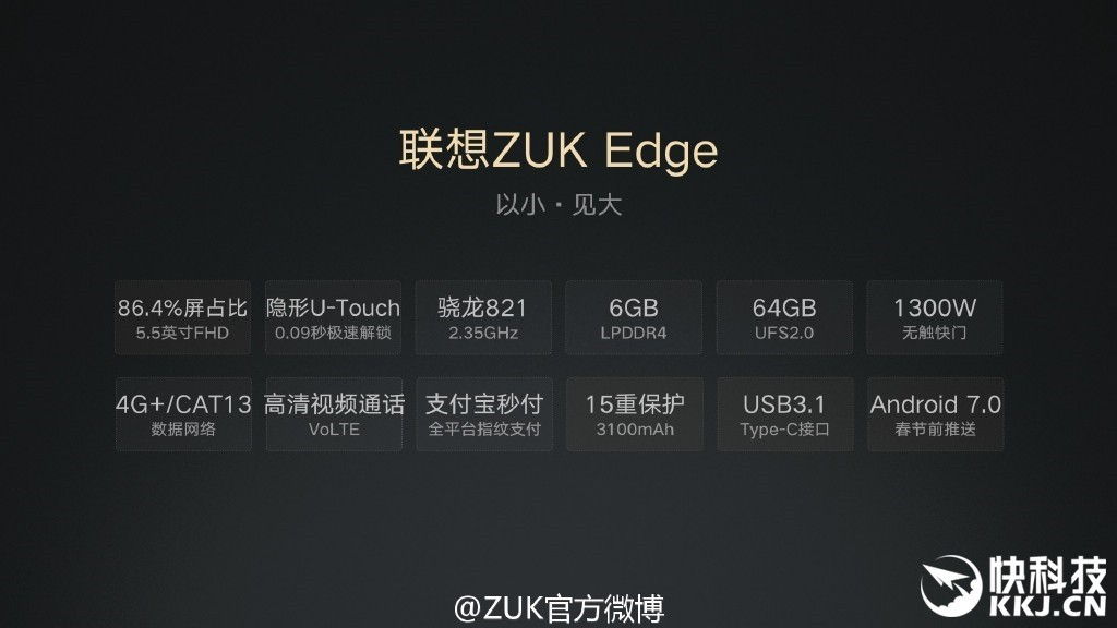 ZUK Edge Launch