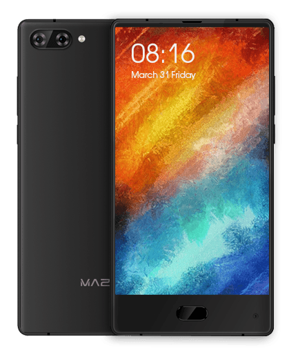 Maze_Alpha_Midnight_Black Liste der Tri-Bezel-Less und Full-View China Handys