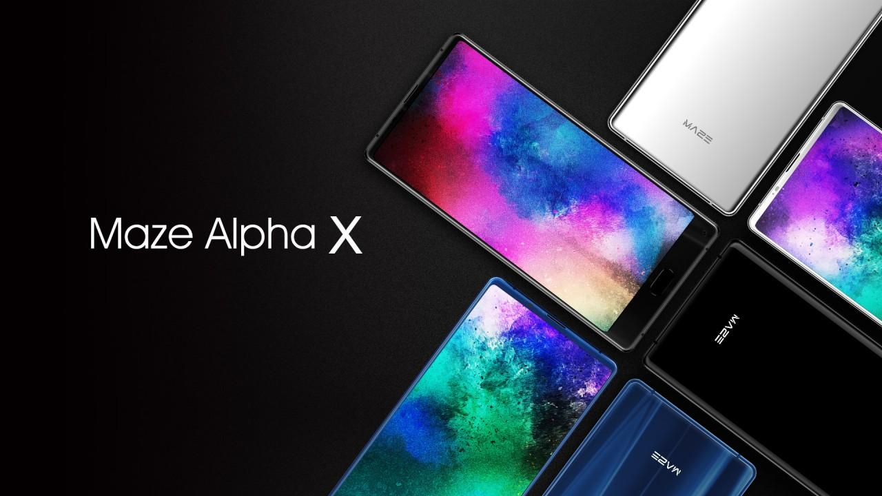 maze alpha x kommt mit 18 9 display. Black Bedroom Furniture Sets. Home Design Ideas
