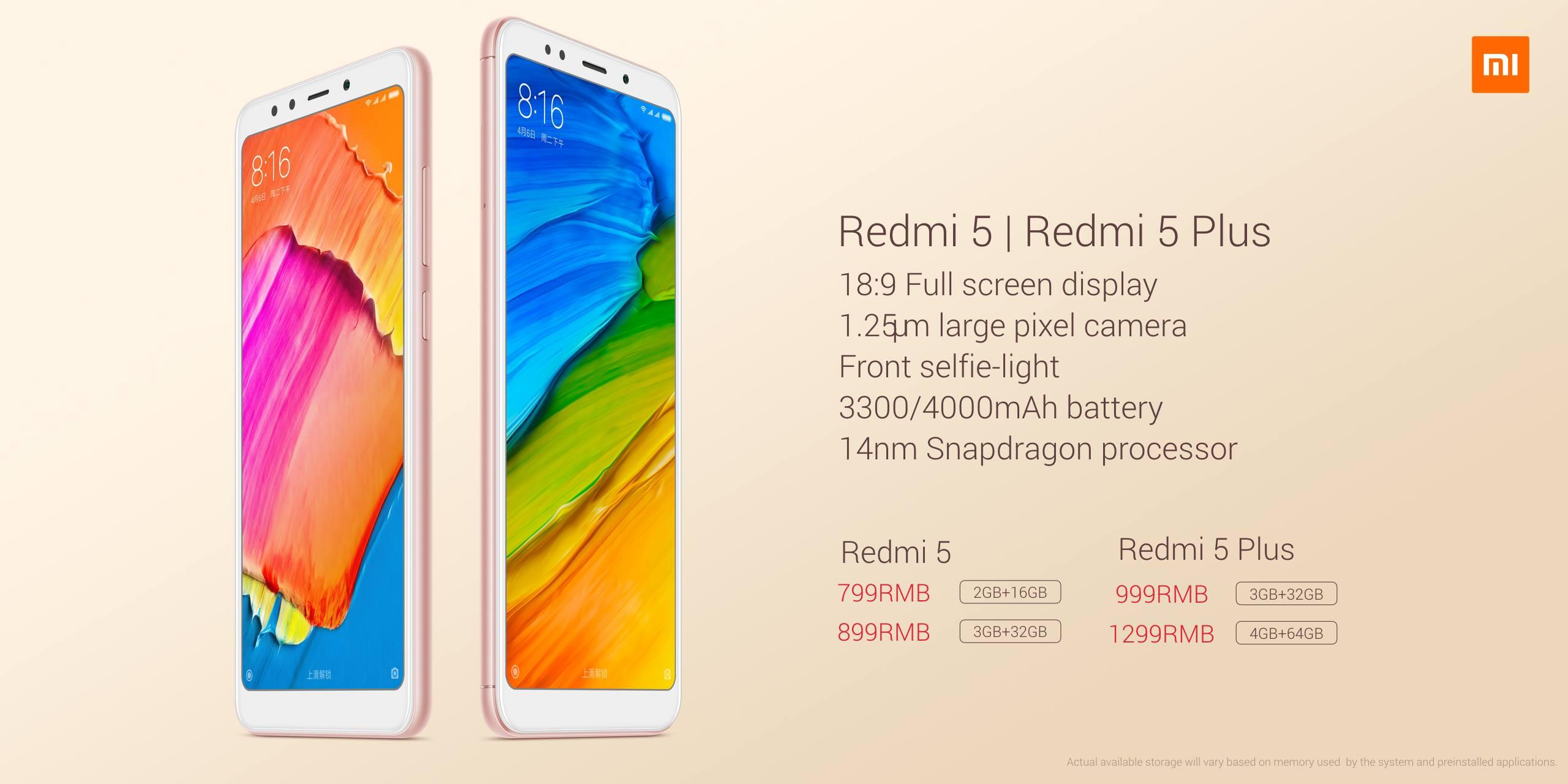 xiaomi-redmi-5-plus-cover Xiaomi Redmi 5 (Plus): Spezifikationen & Details