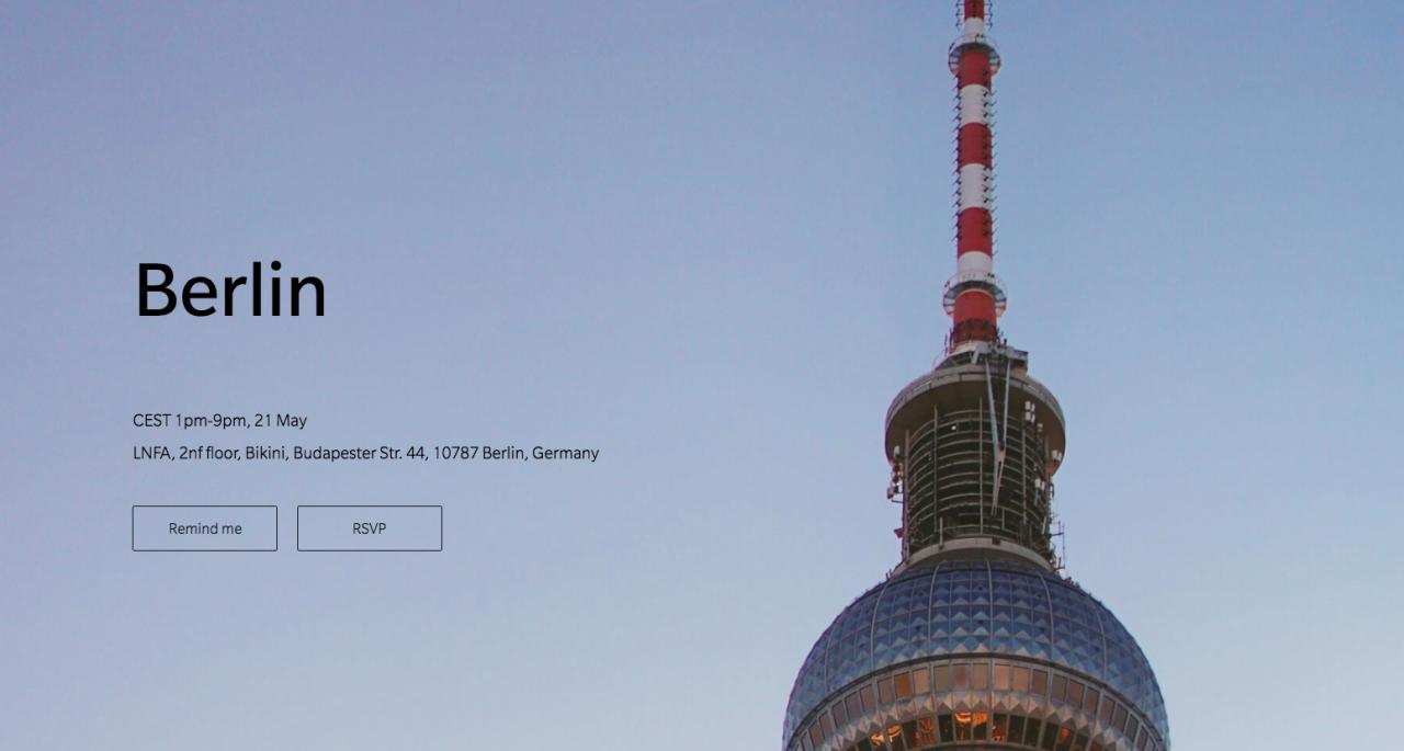 Deutscher OnePlus Pop-Up Store wieder in Berlin