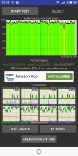 Meizu E3 Thermal Throttling