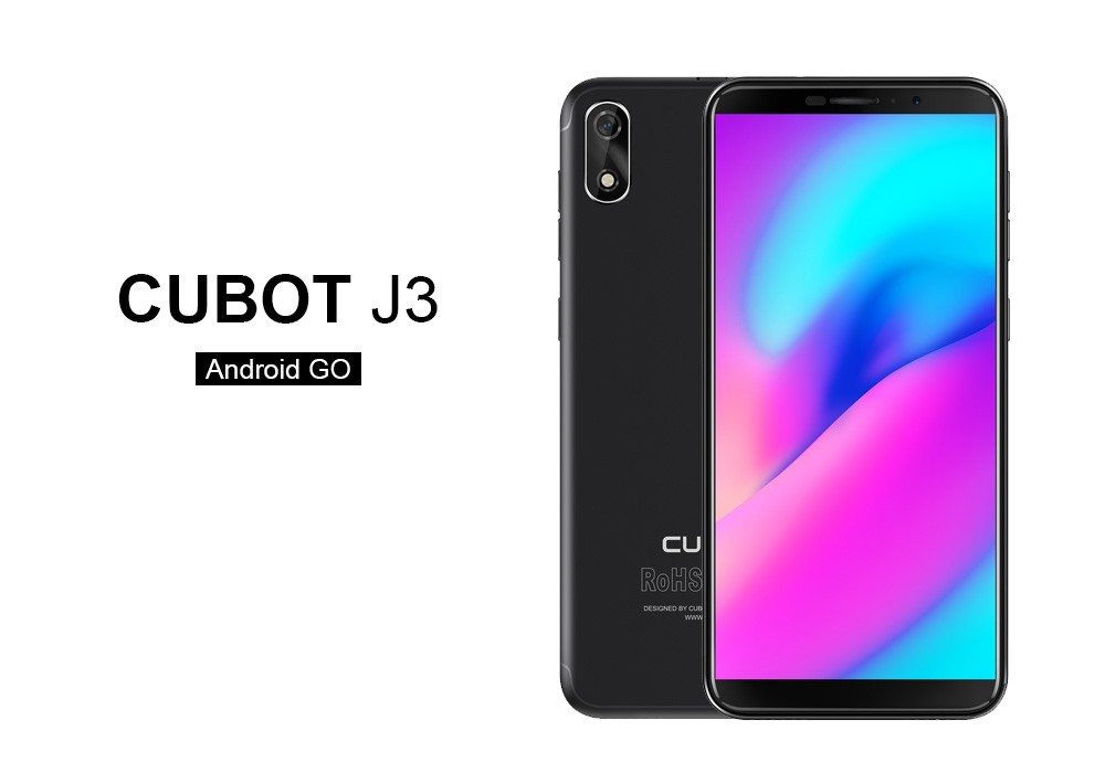 Cubot J3: 5 Zoll und Android Go