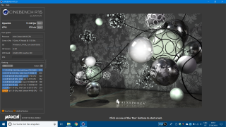 Jumper EZBook X4 Cinebench