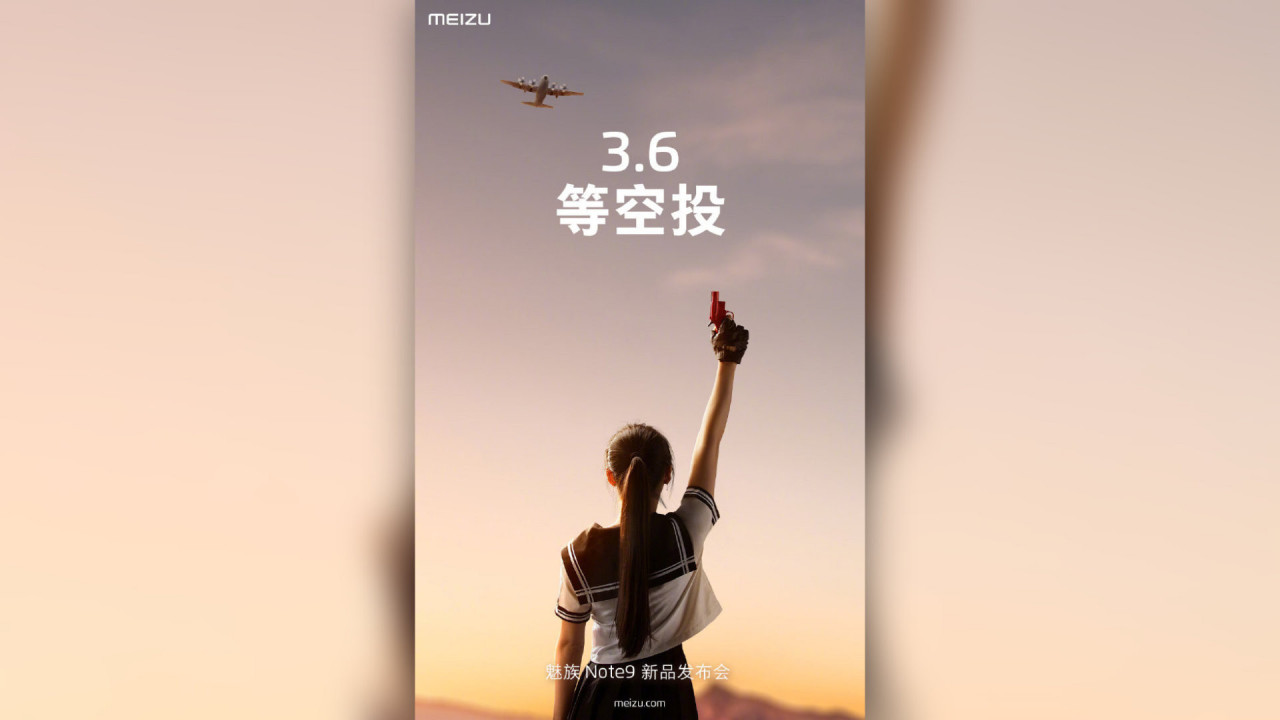 Meizu Note 9 Launch Datum verraten