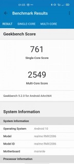 realme x3 superzoom benchmarks