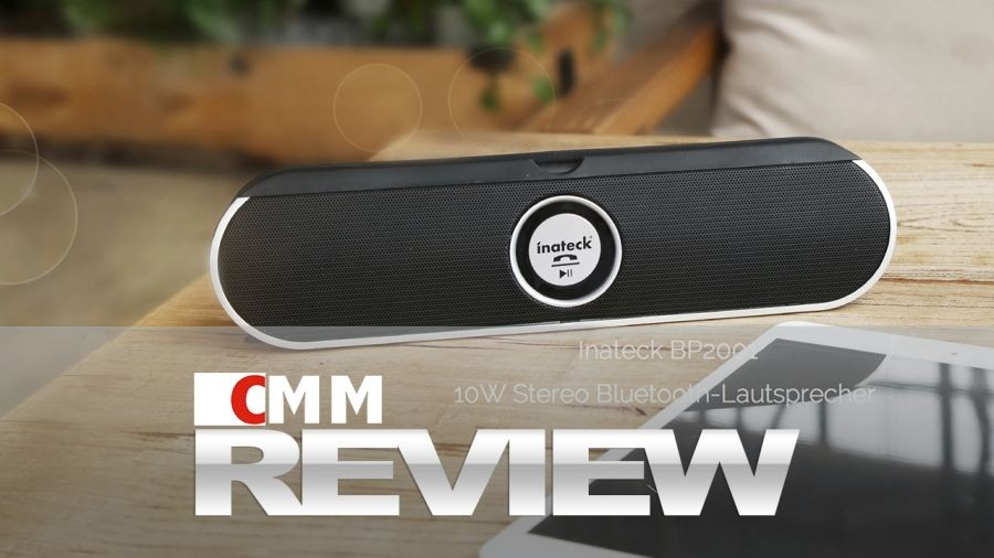 Review: Inateck BP2001 Stereo Bluetooth Lautsprecher